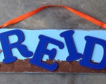 Custom Name Signs for Boys