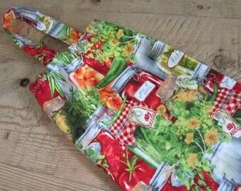 Plastic Bag Holder - Grocery Bag Holder, Dispenser - Canned Vegetables