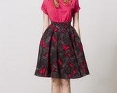 Full circle skirt by Mrs Pomeranz