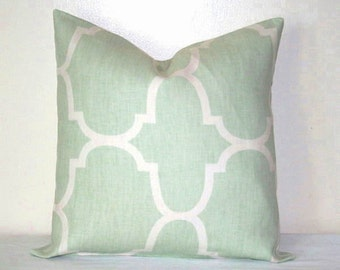 Popular Items For Seafoam Green Pillow On Etsy