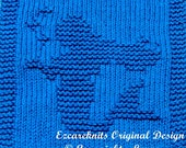 Knitting  Cloth Pattern  -  MERMAID - PDF