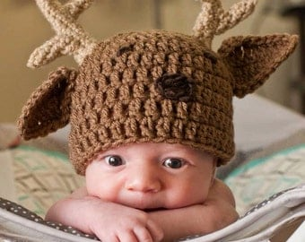 Newborn Buck Hat & Diaper Cover