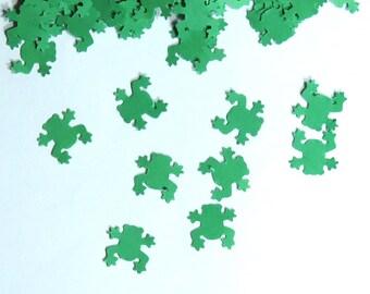 Frog Confetti Green Animal 450 pieces