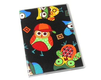 Passport Cover Bright Owls