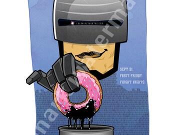 Robocop movie poster print 11 x 17