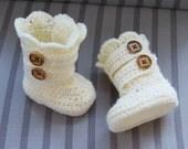 Crochet Boots Pattern, Crochet Booties Pattern, Baby Booties Pattern, Baby Boots Pattern, Classic Snow Boots