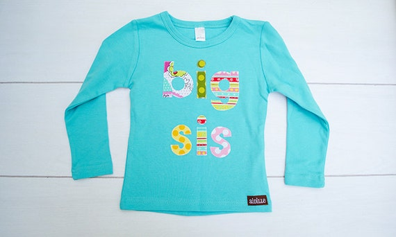 Long Sleeved Big Sister Shirt Fall Big Sis Shirt in by Aidille