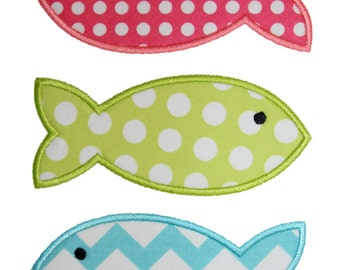 Fishes Applique Design