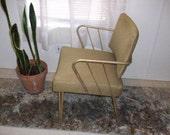 Vintage Mid Century Modern Chair Atomic Retro Hairpin Legs