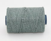 Waxed Irish Linen Thread Slate Grey 4 Ply