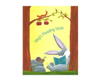 Kids Reading Nook - Reading Nook Sign - Classroom Poster