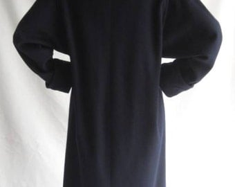 Sale 25% Off Use Coupon Code SAVE25 // Coat Women's by Larry Levine size 12 Vintage 80s