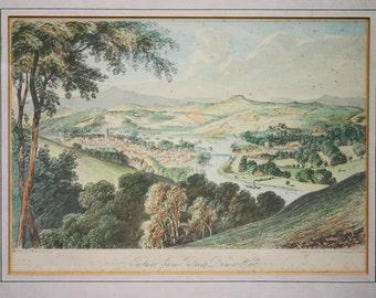 Totnes Devon Print Vintage