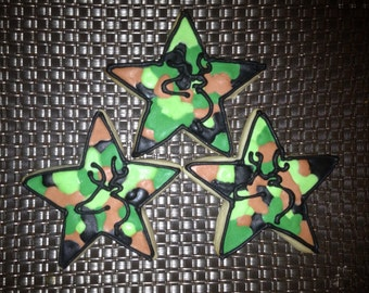 1Dz Hunting Camo Stars or Circles