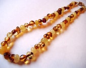 100% Genuine Baltic Amber Teething Necklace Made to Order in the USA