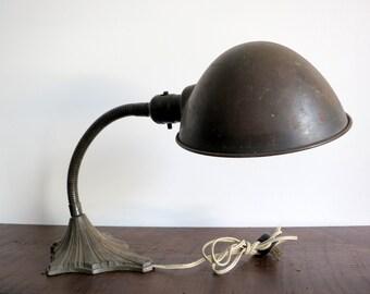 Prohibition era Deco Desk Lamp