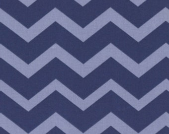 Chevron - Dark purple and Lavender Tonal - FQ - Fat Quarter