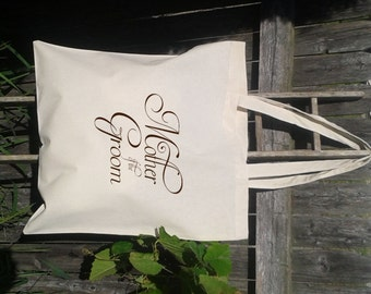 Wedding Welcome Tote -Bridesmaid Tote - Mother of the Bride - Mother of the Groom Totes