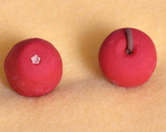 1 red apple  doll food for American Girl dolls