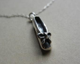 Little Ballet Slipper Necklace