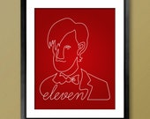 Doctor Who eleventh doctor inspired poster