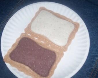 Felt Toaster Pastry Playfood