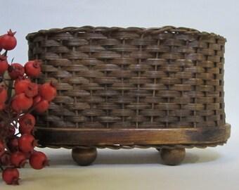 Napkin Basket / Jelly Basket / Gift Basket / Handwoven Basket