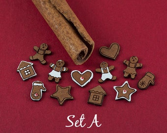 Dollhouse Gingerbread Cookies Kit - 36 pcs.