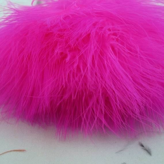 Pink  Marabou feathers MRD-14 craft feathers