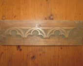 Antique Victorian Wood Mold Hand Carved Architectural Furniture Trim