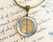 Chalice Well - Leather Necklace