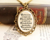 Vampire Byron - Fancy Literature Necklace