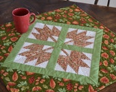 Thanksgiving Table Runner, Quilted Table Runner, Autumn Decor, Patchwork quilt, Harvest.