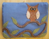 Summer Owl, Large Pouch
