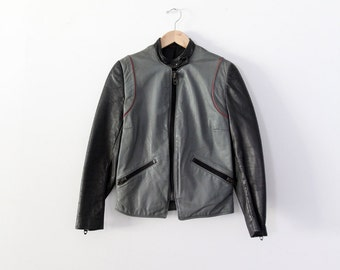 1980s Harley Davidson motorcycle jacket, vintage leather jacket