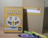 Vintage style jumbo crayons-Cat and Primer