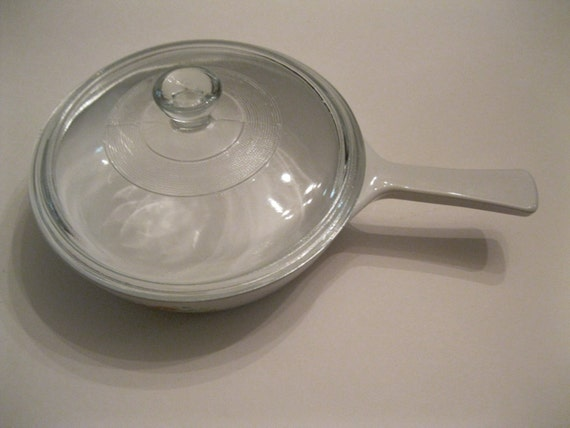 Pyrex Corning Ware Small 6 1 2 Inch Oven Proof Skillet Baking