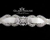 Bridal Garter,wedding garter,garter belt, wedding garter set, garter set, beaded garter, crystal garter set, vintage weddings,jeweled garter