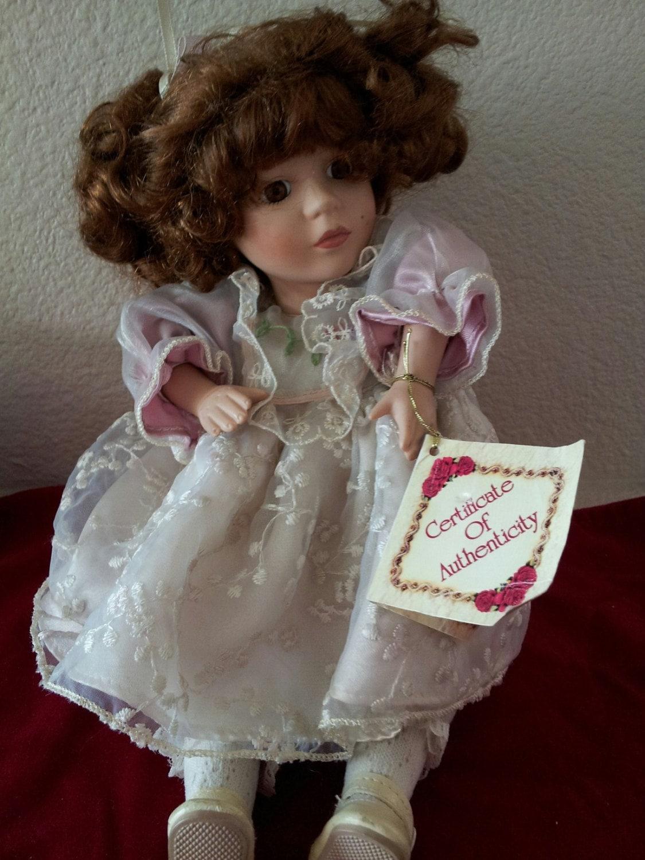 sale collectors choice collectible porcelain doll. Black Bedroom Furniture Sets. Home Design Ideas