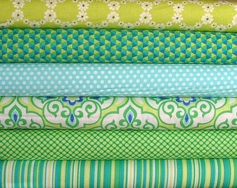 Happy Tones Lavinia Fat Quarter Bundle of 6 for Michael Miller