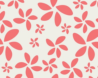 Last One Fat Quarter of Minimalista Flora Watermelon by Art Gallery Fabrics In-House Studio