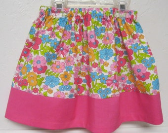 Pretty Little Girls Skirt Size 24  Month to 7