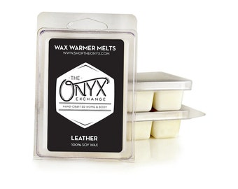 Leather Scented - 6 Pack Soy Wax Melts