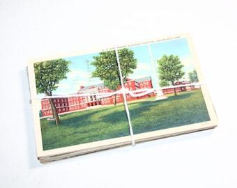 SALE 25 Vintage Used Iowa Postcards