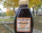 Buckwheat Honey -Pure Raw Ohio Honey -16 ounce jar