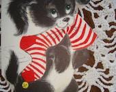 C502 Vintage Used Christmas Greeting Card by Hallmark for Teacher