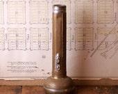 Vintage Lightmaster Brass Flashlight Shell