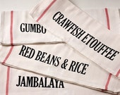 New Orleans Dishes - Kitchen Towels