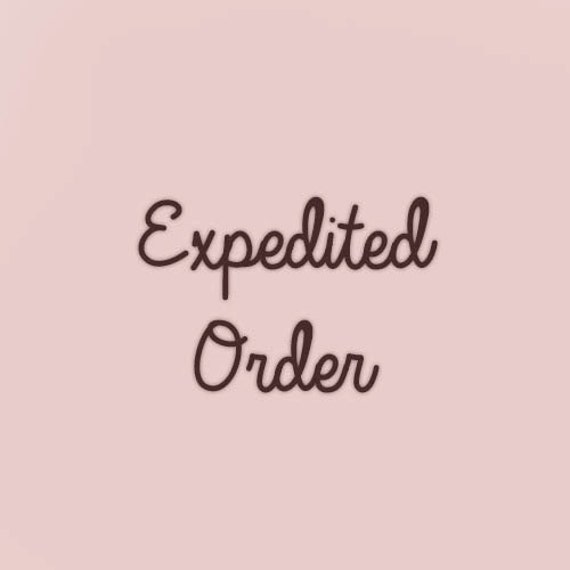 7 Day Expedited Create and Ship