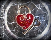 Heart Lock, working lock, lock and key  Love Lock, Mini heart Lock